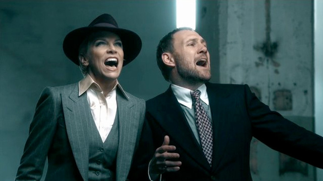 David Gray and Annie Lennox
